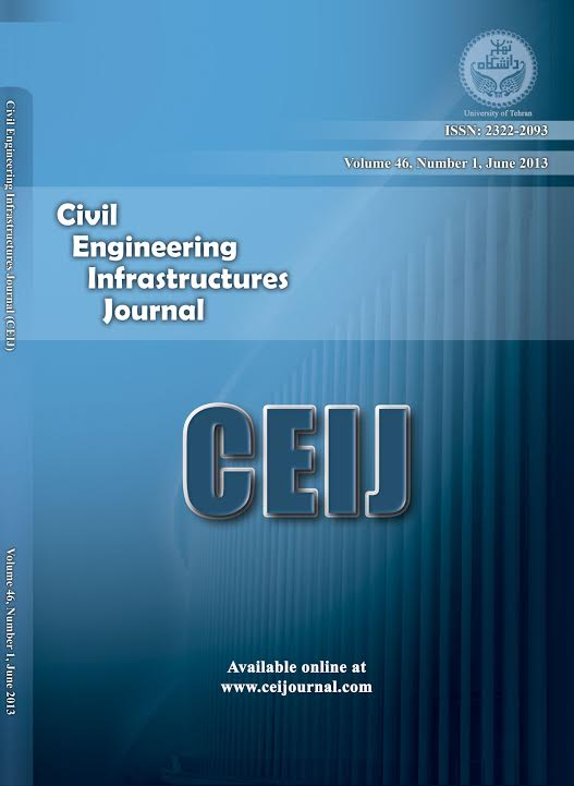 Civil Engineering Infrastructures Journal